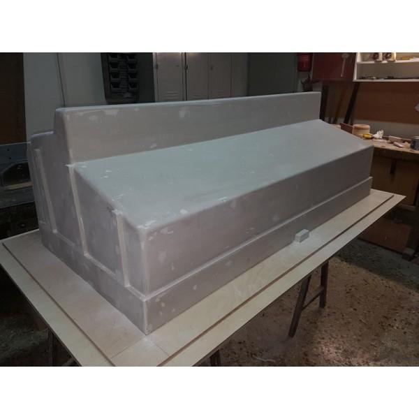 Πολυεστερικό για θάλαμο παγομηχανής