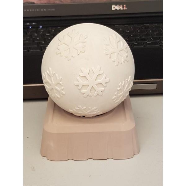 3D εκτύπωση χριστουγεννιάτικης μπάλας